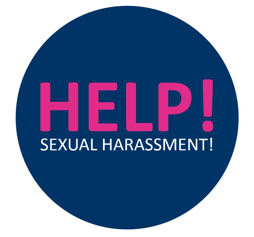 Hilfe bei sexueller Belästigung: Hier finden Sie Informationsmaterial sowie Ansprechpartnerinnen und -partner.