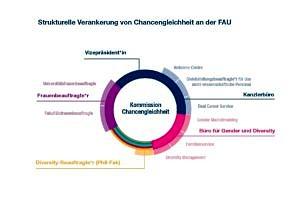 Strukturelle Verankerung von Chancengleichheit an der FAU