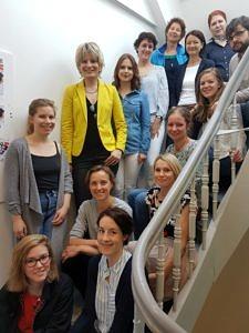 Mitarbeiter*innen des Büros für Gender und Diversity