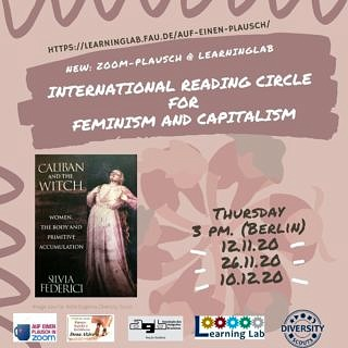 "Zum Artikel ""Zoom Plausch organized by Diversity Scouts: International Reading Circle about Feminism and Capitalism 